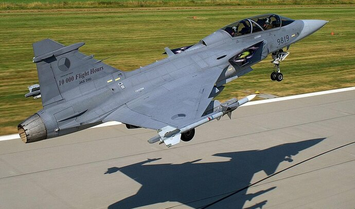 Llawyers' sirens sound over Gripen jets deal