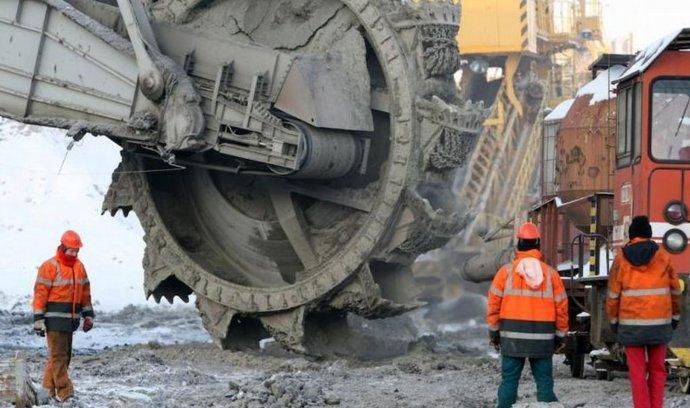 Těžba na lomu Družba Sokolovské uhelné končí, zůstává jen Jiří