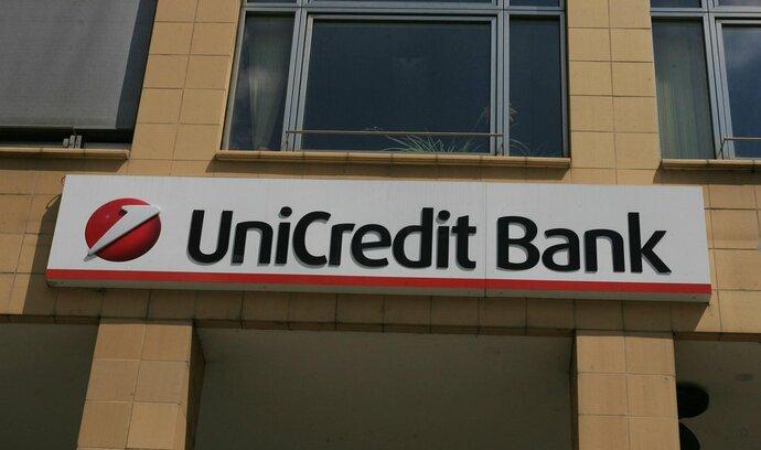 UniCredit v Česku letos vydělala už 2,5 miliardy, rostou jí hypotéky