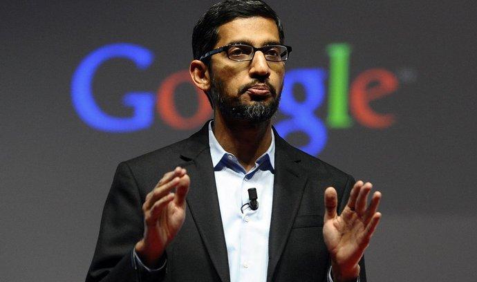Šéf Googlu dostal obří odměnu: 199 milionů dolarů v akciích