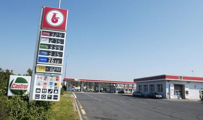 Pohonné hmoty znovu zlevnily, benzin je pod hranicí 30 korun