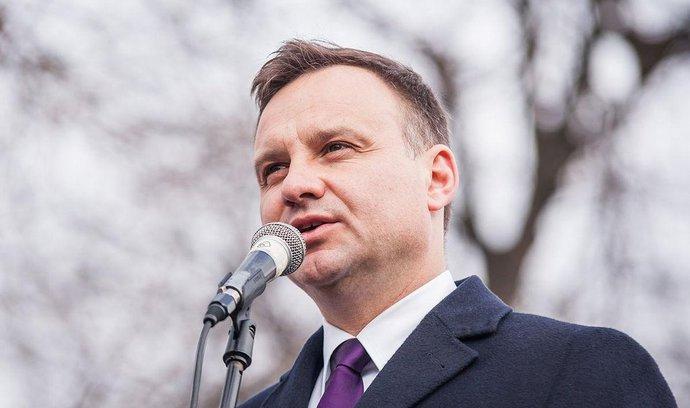 Polský konzervativec Andrzej Duda složil přísahu a stal se prezidentem
