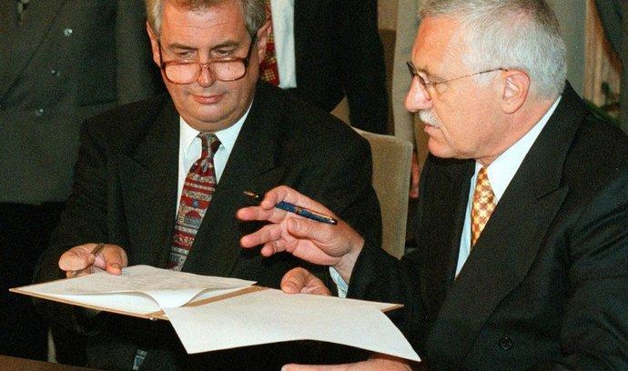 Analýza: Opoziční smlouva jako trvalý bod sváru