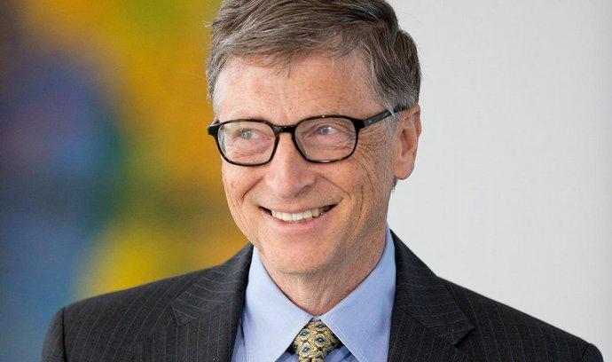 Bill Gates se vzdal velkého balíku akcií Microsoftu. Zisk věnoval na charitu