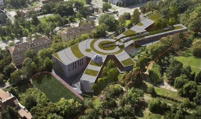 Kellnerova Open Gate na místě hotelu Praha bude třípodlažní