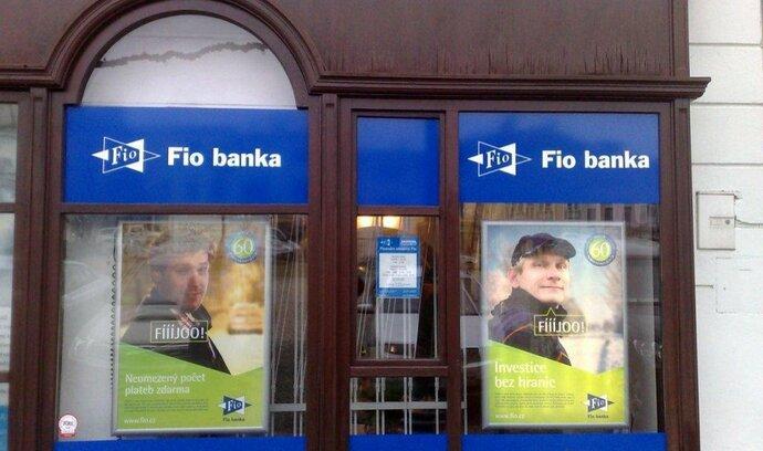 Fio bance se daří lákat klienty: loni jí čtyřnásobně vzrostl zisk