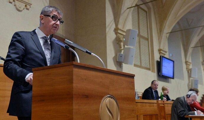 Babiš dnes na schůzi Sněmovny zveřejní exmajitele Čapího hnízda