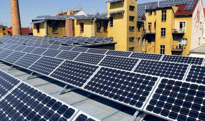 Na každého Čecha připadá jeden solární panel