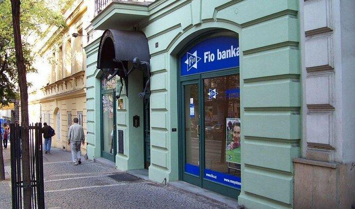 Fio banka loni téměř zdvojnásobila zisk, vydělala 98 milionů