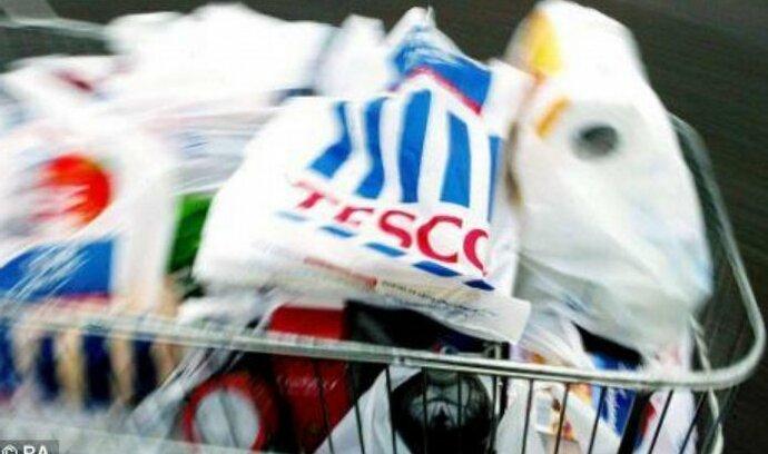 Tesco přestane dávat zdarma igelitové tašky