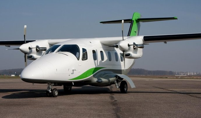 Zalétává se nové české dopravní letadlo