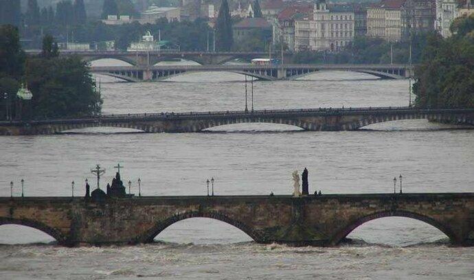 Praha je před velkou vodou dobře ochráněna 1f864ea687