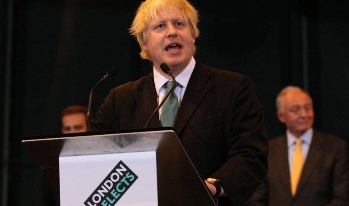 Post londýnského starosty obhájil konzervativec Boris Johnson