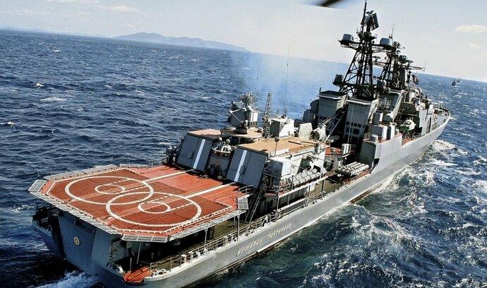 Rusko chce flotilu ve Středozemním moři
