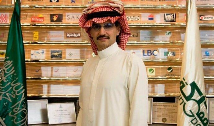 Saúdský princ napadá žebříček Forbes, chce do první desítky