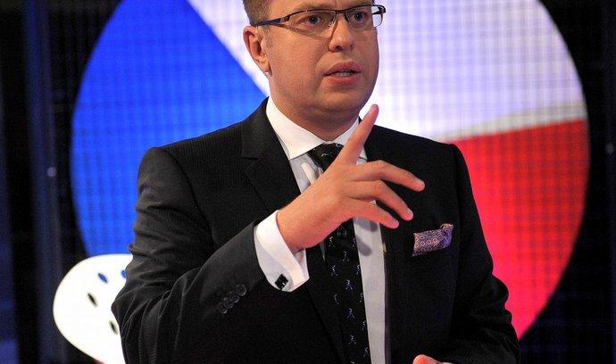 První lednové Otázky Václava Moravce přilákaly k obrazovkám 915 tisíc diváků