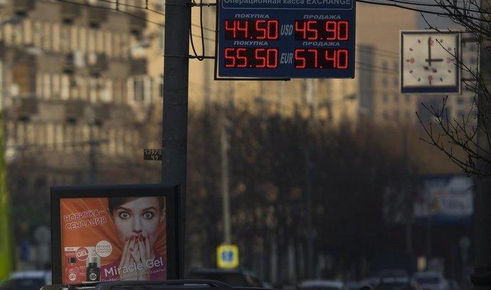 Zastavte pád rublu, žádá ruská národní banka exportéry