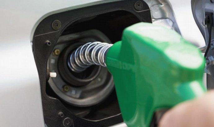Benzin i nafta v Česku za uplynulý týden mírně zdražily