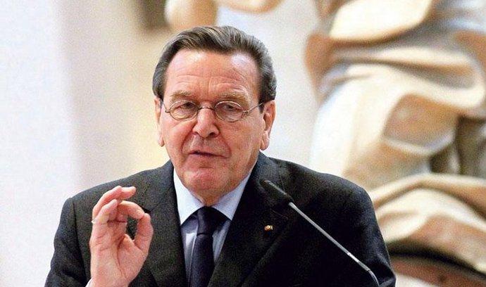 Bývalý německý kancléř Schröder byl nominován do správní rady ropné společnosti Rosněfť