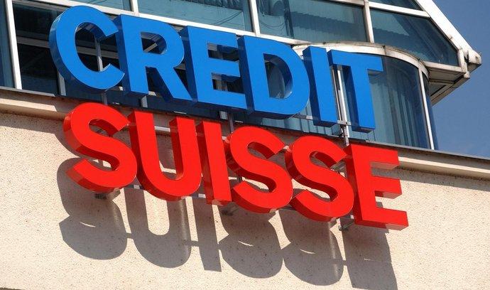 Zisk Credit Suisse poklesl o třetinu. Nedařilo se investičnímu bankovnictví