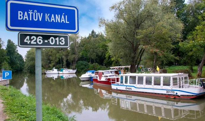 Slováci pustí lodě z Baťova kanálu do Hodonína