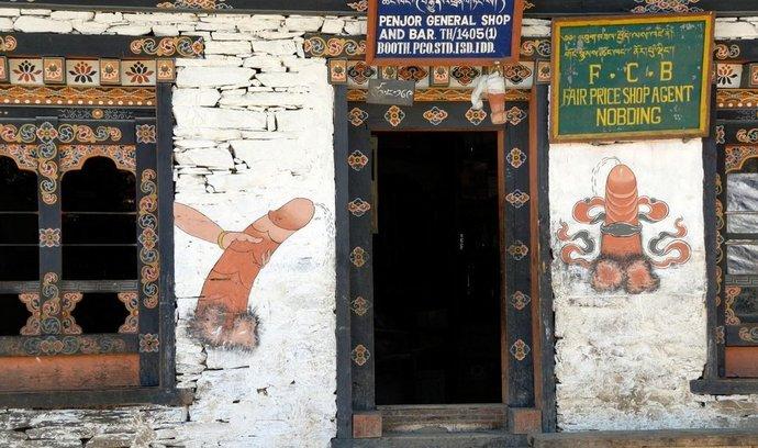 Bhútán - země velkých penisů
