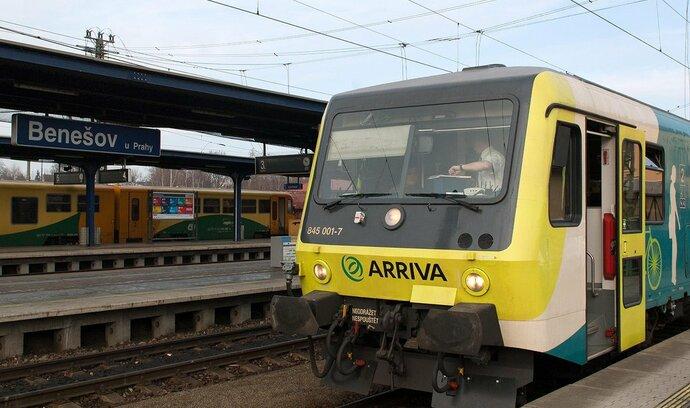 Arriva zahustí provoz mezi Benešovem a Prahou, chystá i expres na Šumavu