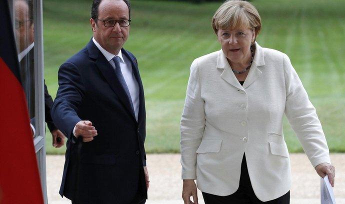 Příliv uprchlíků nezpůsobují jen války, ale i chudoba, řekla Merkelová