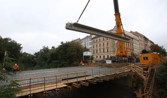 Stavebnictví klesá. Produkce inženýrských staveb se meziročně snížila o pětinu