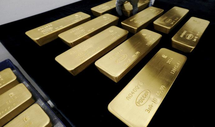 Rusko masivně nakupuje zlato, má největší zásoby za celou Putinovu éru