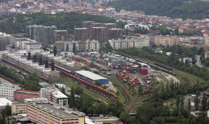 Praha jedná s Českými drahami o odkupu Nákladového nádraží Žižkov