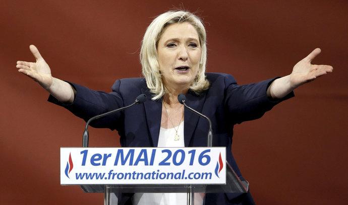 Prohra Le Penové bude vzpruhou pro akcie