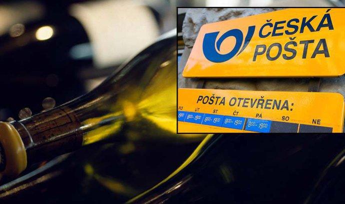 Kam mizí peníze České pošty? Státní podnik koupil přes čtyři tisíce lahví vína