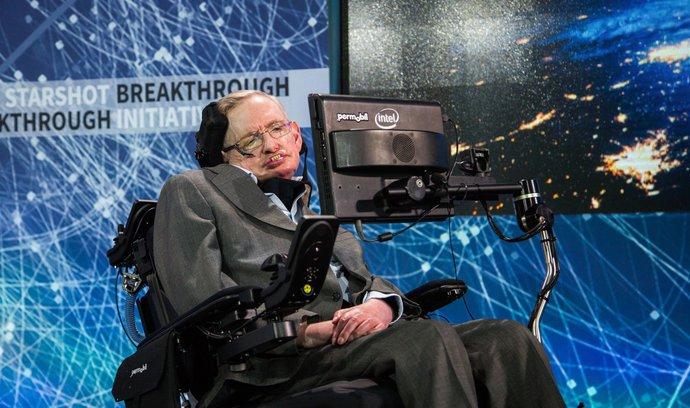 Lidstvo vyhyne, pokud do sta let neopustí Zemi, varuje Stephen Hawking