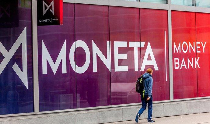 Moneta Money Bank vyplatí nižší dividendu než před rokem
