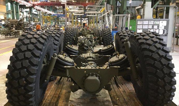 Tatra dodá desítky podvozků pro brazilskou a tureckou armádu