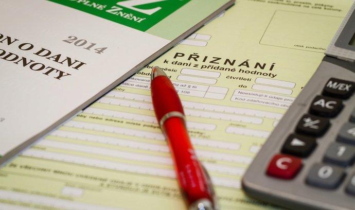 Finanční správa vybrala více na DPH
