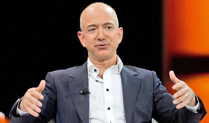 Jeff Bezos se stal druhým nejbohatším člověkem, vděčí za to růstu akcií Amazonu