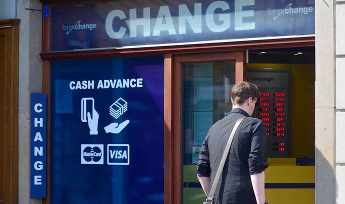 Směnárny by měly do dvou hodin vyměněné peníze vrátit zpět, navrhuje změnu zákona ČNB