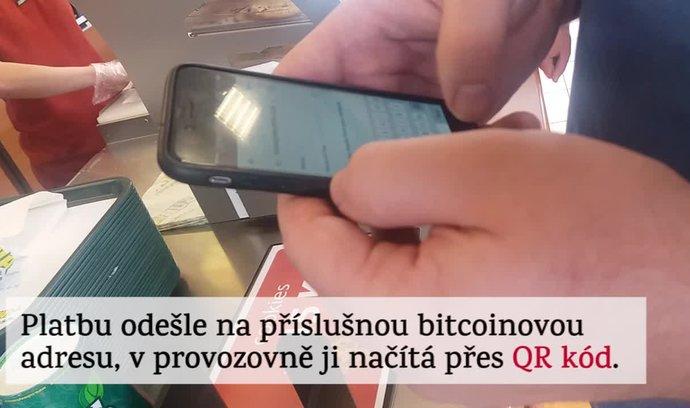 Očima E15: Jak se v Česku platí bitcoinem. Stačí k tomu mobilní aplikace