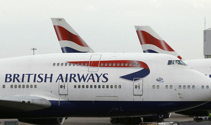 Palubní personál v British Airways zahájil stávku, firma si musela pronajmout letadla