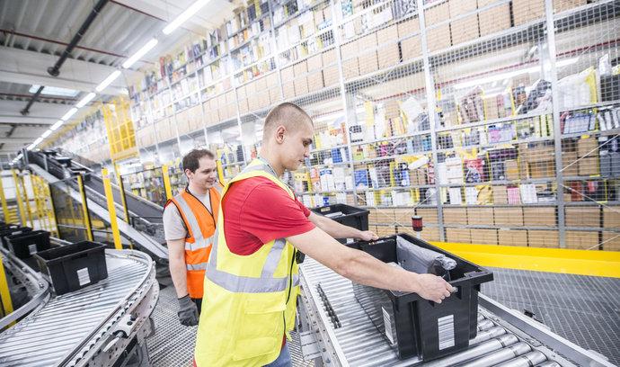Amazon na Slovensku nabídne přes tisíc pracovních míst, otevřel tam logistické centrum
