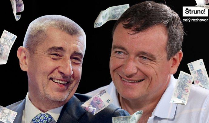 Andrej Babiš platil politikům miliony v hotovosti, říká David Rath