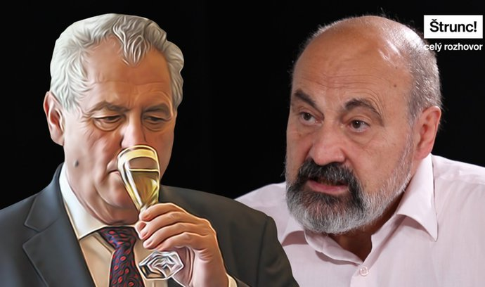 Zemana zničil alkohol, jeho pokračování je morbidní představa, říká Halík