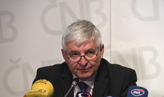 Sazby by během dvou let měly být kolem tří procent, řekl Rusnok
