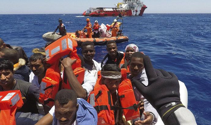 Státy EU zvládnou přijmout dalších 40 tisíc uprchlíků, říká Merkelová