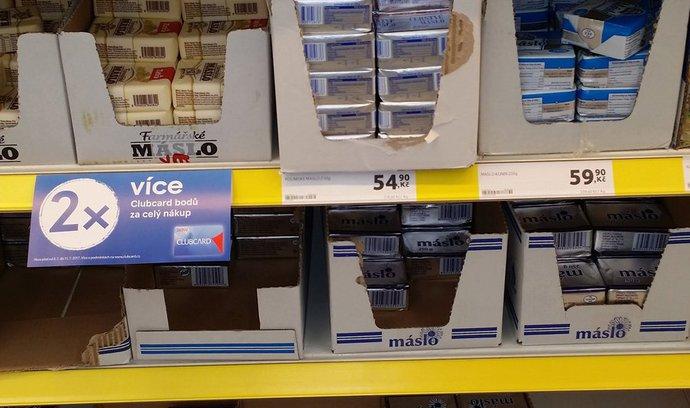 Inflace v Česku zpomalila, přestože cena másla trhá rekordy