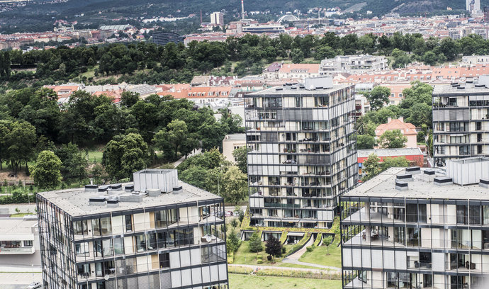 Růst cen pražských bytů zpomaluje, nabídka volných bytů výrazně vzrostla