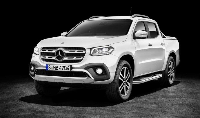 O novém Mercedesu třídy X už víme vše! Díky šestiválci půjde po krku VW Amarok