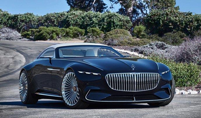 Koncept Mercedes-Maybach 6 Cabrio je krásný. Na místě motoru má sadu na piknik